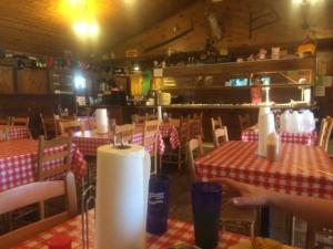 Inside Shuler's BBQ in Latta, SC