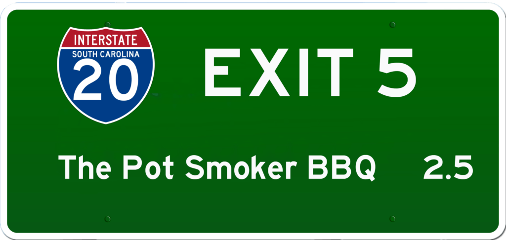 SC BBQ on I-20 at Exit 5