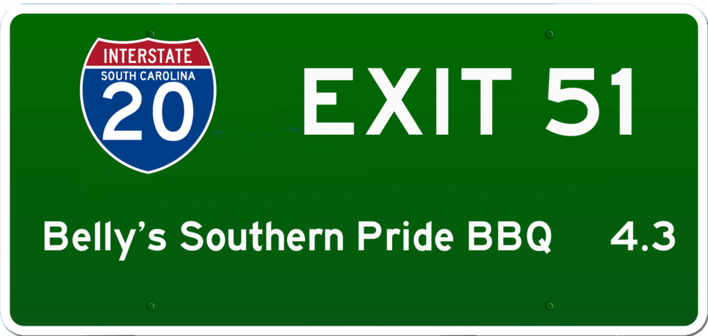 SC BBQ on I-20 at Exit 51