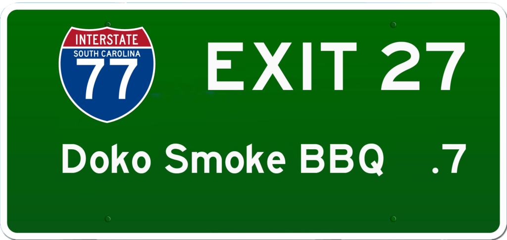 SC BBQ on I-77 at Exit 27