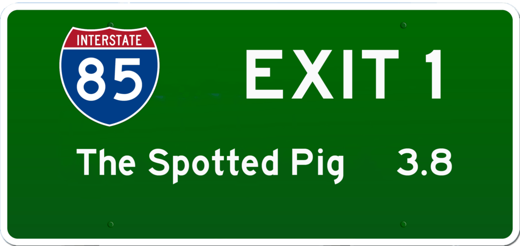 SC BBQ on I-85 at Exit 1