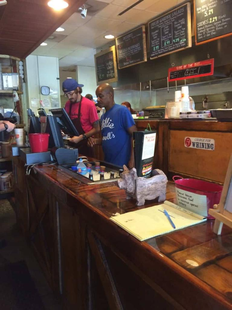 Willie Jewell's in North Charleston - Counter